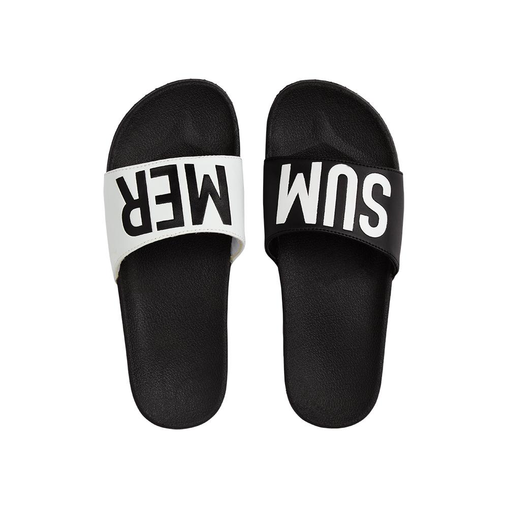 Afbeelding van Beach Life 870404.955 Dames slippers ZWART