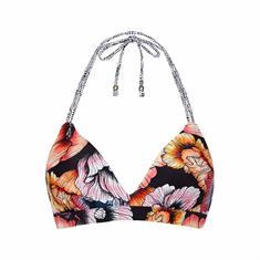 Beach Life 970106.958 C-D bikini top zwart dessin