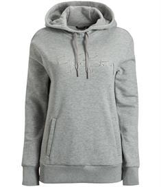 Bjorn Borg Disa Hood dames sportsweater midden grijs