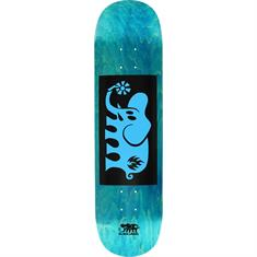 Black Label Elephant Block 8.0 skateboard blauw