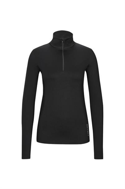 Bogner 5488 Margo2 dames ski pulli met rits zwart
