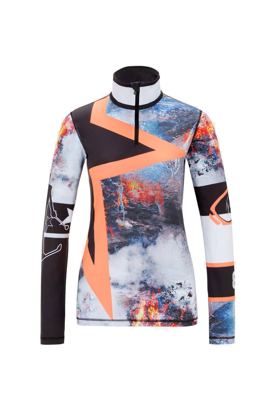Bogner 5489 Ilvy dames ski pulli met rits