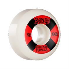 Bones 100 52MM skateboard wielen rood