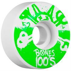 Bones Bones 100s 10 52mm wielen wit