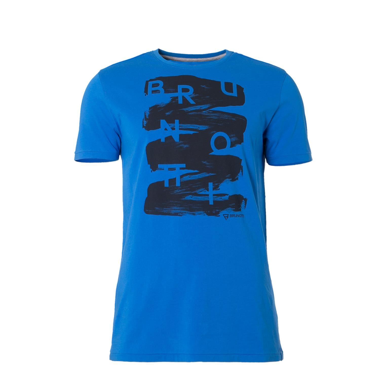 Afbeelding van Brunotti Alberts Heren shirt kobalt