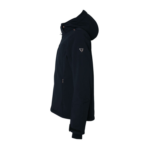 Brunotti Ariesta meisjes ski/snowboard jas zwart
