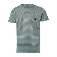 Brunotti Axle-Ydstripe-pckt heren shirt groen dessin