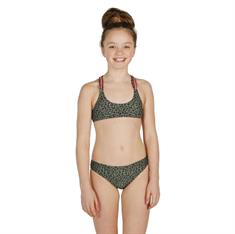 Brunotti Coralina Leopard bikini meisjes bikini groen dessin