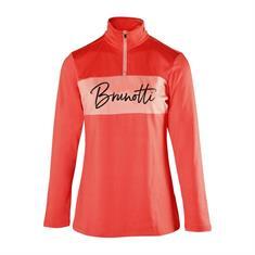 Brunotti dames ski pulli met rits zalm