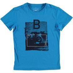 Brunotti Gabriel JR T-Shirt jongens shirt kobalt