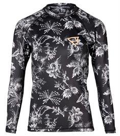 Brunotti Glow Rashguard LS uv shirt dames zwart dessin