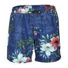 Brunotti heren beach short blauw dessin