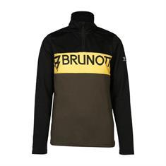 Brunotti junior ski pulli met rits zwart