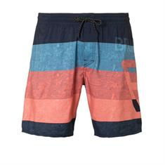 Brunotti Kelvin heren beach short blauw dessin