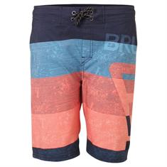 Brunotti Kelvin jongens beachshort blauw