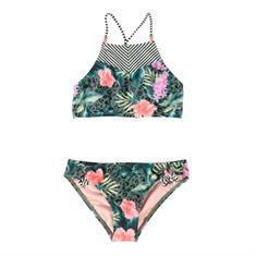 Brunotti Noah JR Bikini meisjes bikini groen dessin