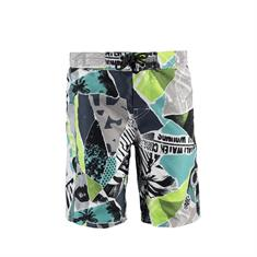 Brunotti Rebel JR.Boys Short jongens beachshort grijs dessin