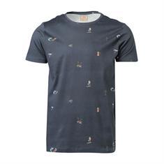 Brunotti Reyes heren shirt grijs dessin