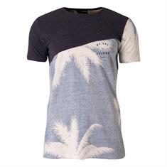 Brunotti Ringo heren shirt blauw dessin
