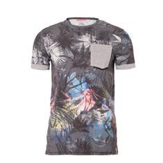 Brunotti Salford Shirt heren shirt grijs dessin