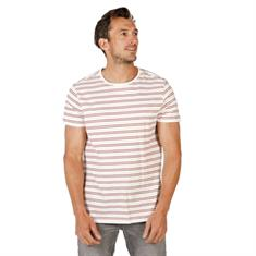 Brunotti Tim Twin Stripe heren shirt wit