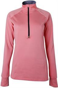 Brunotti Yrenna dames ski pulli met rits pink