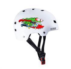 Bullet Santa Cruz Slasher bmx/skate helm wit