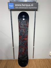 Burton 1-788 Blunt Wide heren board gebruikt zwart