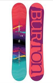 Burton Beste Koop Feelgood allmountain snowboard dames rood