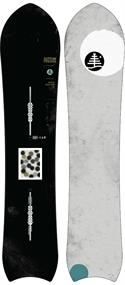 Burton Bottom Feeder freeride heren snowboard zwart