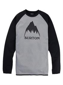 Burton Crown Crew heren sweater midden grijs
