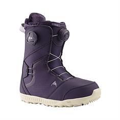 Burton Felix Boa Purple Velvet dames snowboardschoenen zwart