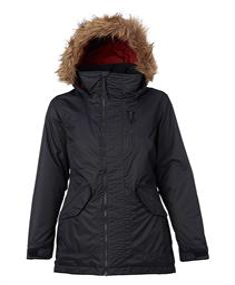 Burton Hazel Jkt Dusty Wax dames snowboard jas zwart