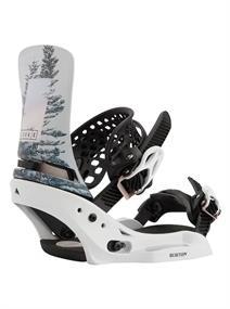 Burton Lexa X EST snowboard bindingen wit