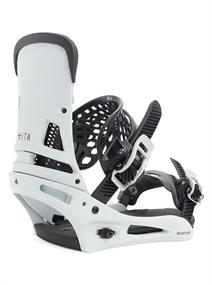 Burton Malavita Re:flex snowboard bindingen wit