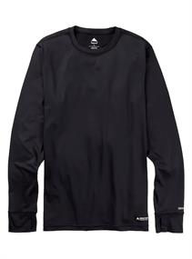 Burton Midweight Base Layer Crew heren thermo sport shirt zwart