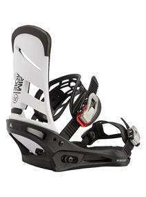 Burton Mission Re:flex snowboard bindingen wit