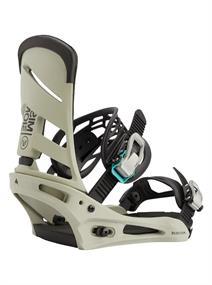 Burton Mission Re:flex Wing snowboard bindingen midden grijs