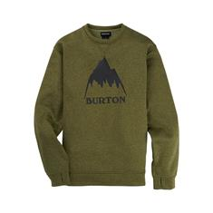 Burton Oak Crew heren sweater groen
