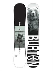 Burton Process Wide Camber all mountain snowboard zwart