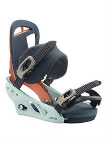 Burton Scribe Reflex snowboard bindingen blue