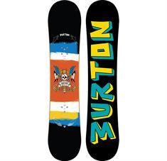 Burton Shaun White Smalls allmountain snowboard jr. zwart