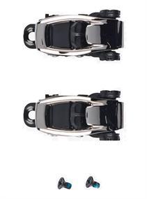 Burton Toe Buckle Set snowboard accessoires zwart