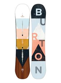Burton Yeasayer Flying-V allmountain snowboard dames wit