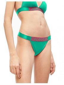 Calvin Klein Brazilian bikini slip groen