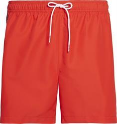 Calvin Klein KMOKM00434 Medium Drawstring heren beach short rood