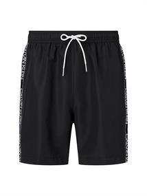 Calvin Klein Medium Drawstring heren beach short zwart