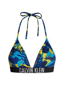 Calvin Klein Triangle Top bikini top kobalt