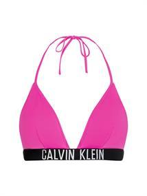 Calvin Klein Triangle Top bikini top pink