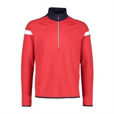 Campagnolo Man Sweat Softtech heren ski pulli rood